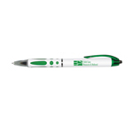Jet Setter - Retractable Ball Point Pen with Rubber Grip