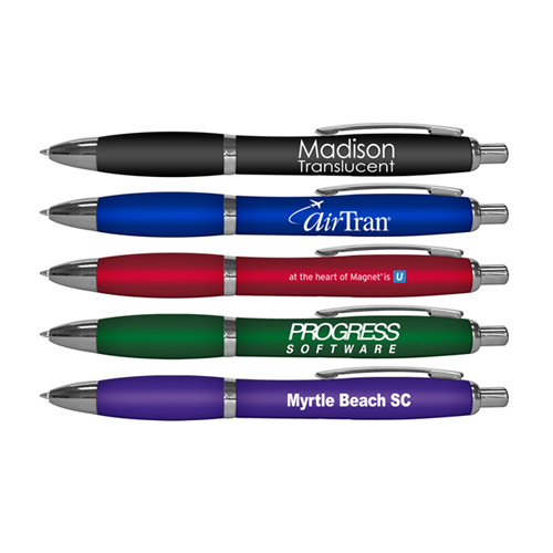 Madison Translucent - Retractable Ball Point Pen