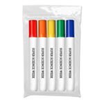*Washable Markers - USA Made - 5 ct