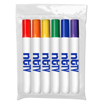 *Washable Markers - USA Made - 6 ct