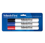 Dry Erase Markers with Custom Blister Card - USA Made - 3ct
