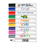 Bullet Tip Dry Erase Marker - USA Made- Full Color Decal
