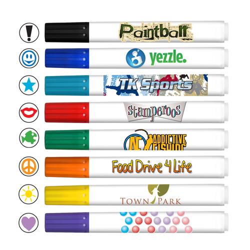 *Stamperoos - Washable Ink Stamping Markers - USA Made - Full Color Decal