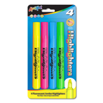 Set of 4 Brite Spots® Highlighters - Assorted Colors - USA Made
