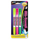 Set of 3 Gel-Brite™ Gel Highlighters - Assorted Colors