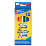 "Set of 10 Colored Pencils 7"" Pre-Sharpened - Assorted Colors"