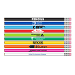 #2 HB Lead Pencils - Classic Barrel Colors