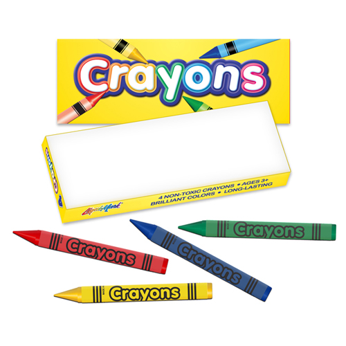 Crayon Box - 4 ct
