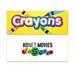 Crayon Box - 4 ct - Full Color Decal