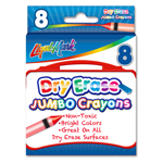 Set of 8 Jumbo Dry Erase Crayons