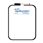 "8x10"" Dry Erase Board with Black Frame - Dry Erase Marker with Eraser Cap"