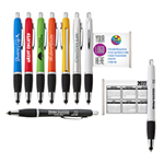 iWriter Banner Stylus & Pen Combo with Double Sided Message Banner